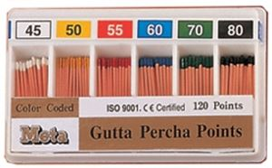 Picture of Meta Gutta Percha Points 30 No