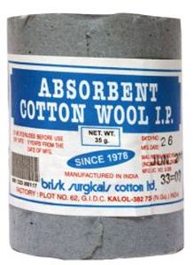 Picture of Brisk Absorbent Cotton Wool IP 35 gms (12pcs)