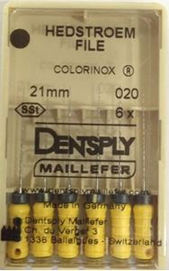 Picture of Dentsply Maillefer H File 6 No 21 MM