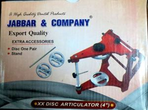 Picture of Jabbar Articulator 4 inch Disc