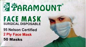 Picture of Paramount Disposable Face Mask Tie 50 Pcs