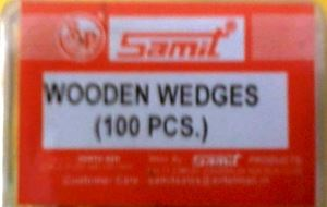 Picture of Samit Wooden Wedges Coloured 100 pcs