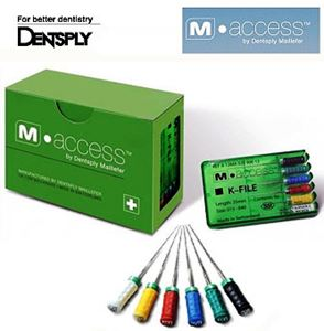 Picture of Dentsply M Access K Files 10 no 25 mm
