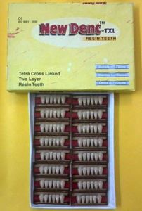 Picture of Newdent Acrylic Teeth Set of 6 lower