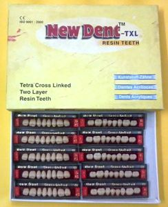 Picture of Newdent Acrylic Teeth M&B Set Of 16