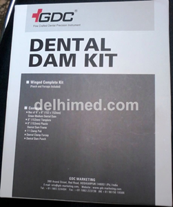 Picture of GDC RUBBER DAM KIT ADULT DDK