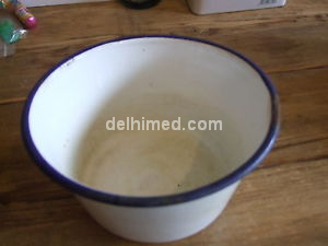 Picture of ENAMEL BOWL 3 INCH