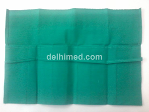 Picture of INSTRUMENT POUCH GREEN CLOTH
