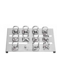 Picture of RUBBER DAM CLAMP SET OF 11 WITH CLAMP HOLDER